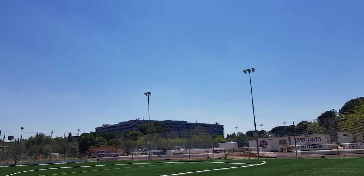 campo futbol el capricho - Proyectos
