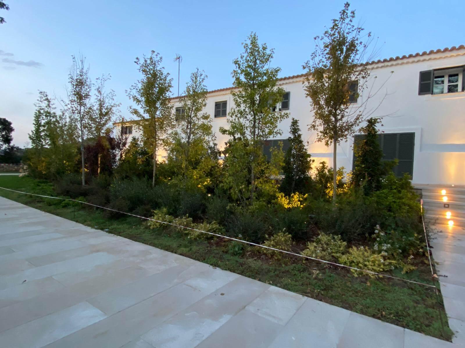 iluminacion jardin 4 - Proyectos