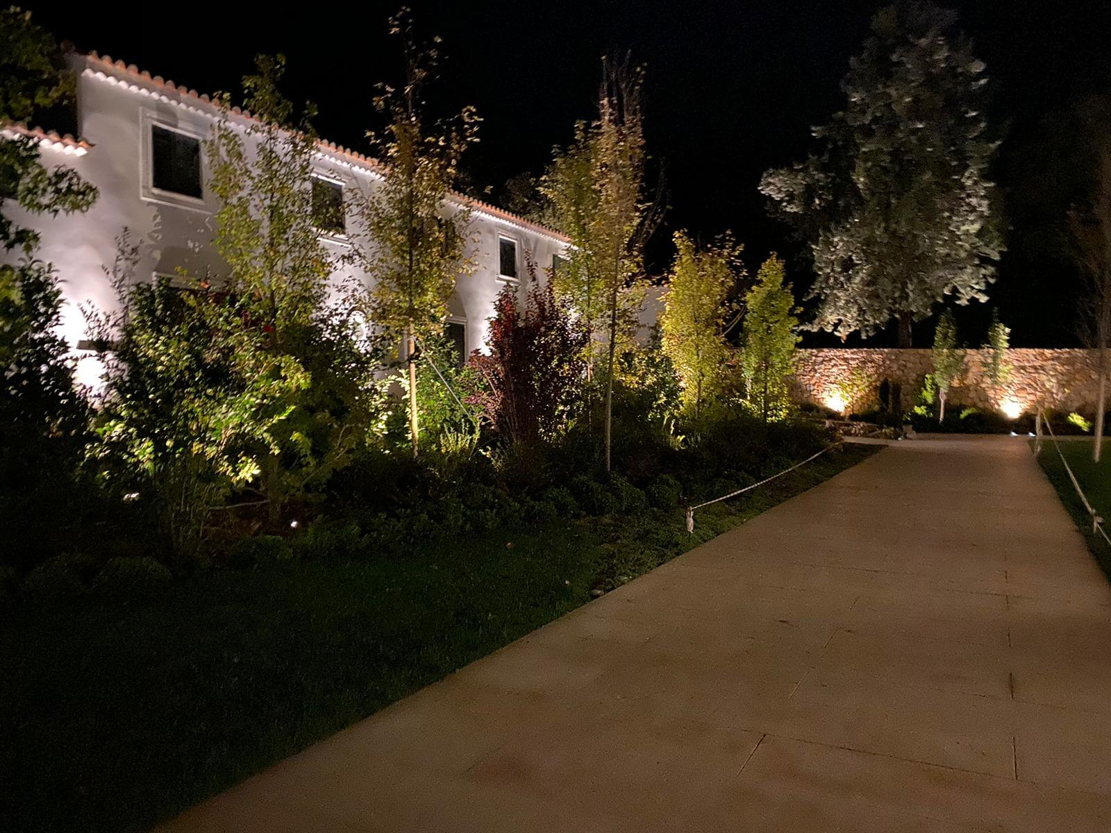 iluminacion jardin 5 - Iluminación jardin